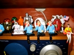 Telephone Teens and Astronauts sitting atop my little Tivoli radio