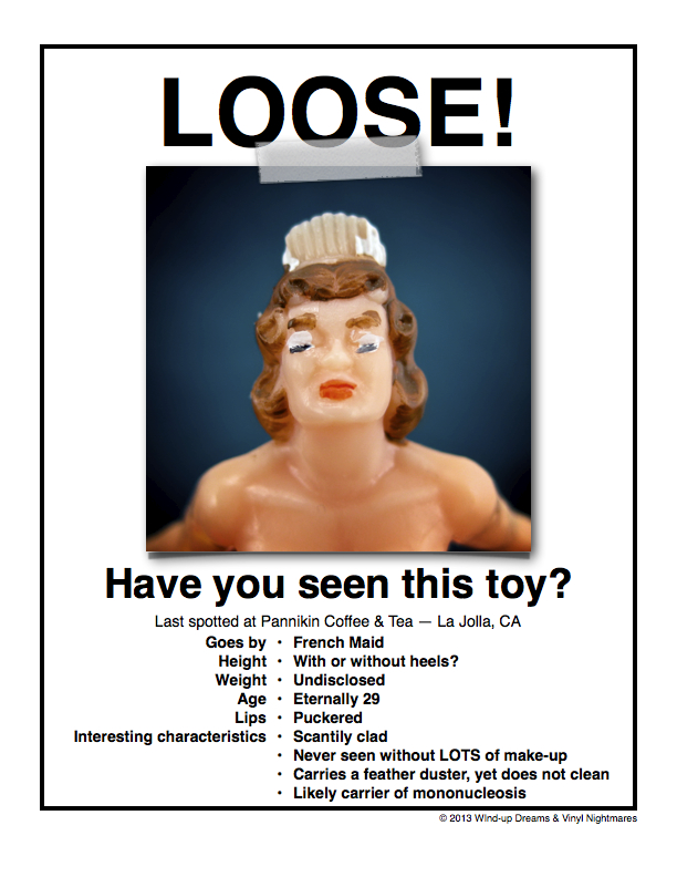 Wanted Posters For My Misbehaving Toys Wind Up Dreams