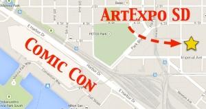 ArtExpo Map