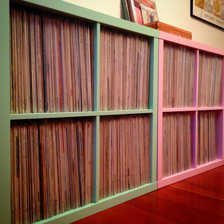 Ikea Kallax For Vinyl Records ~ Toys  Wind up Dreams & Vinyl Nightmares